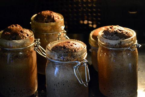 Weckgläser für Kuchen im Glas